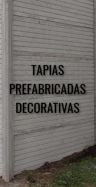 Tapias Prefabricadas Decorativas
