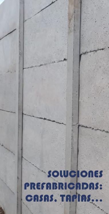 Soluciones Prefabricadas, Casas, Tapias